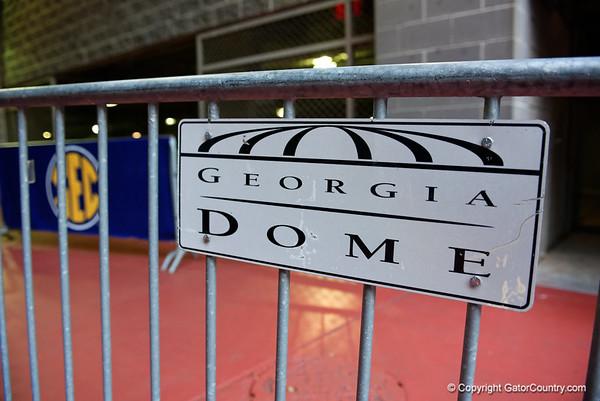 2015 SEC Championship - Florida Gators Walk Into Georgia Dome