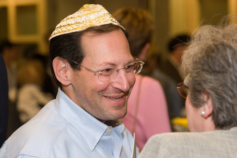 Reception following the Siyum HaTorah -- Beth El's Project 613: Writing a Torah