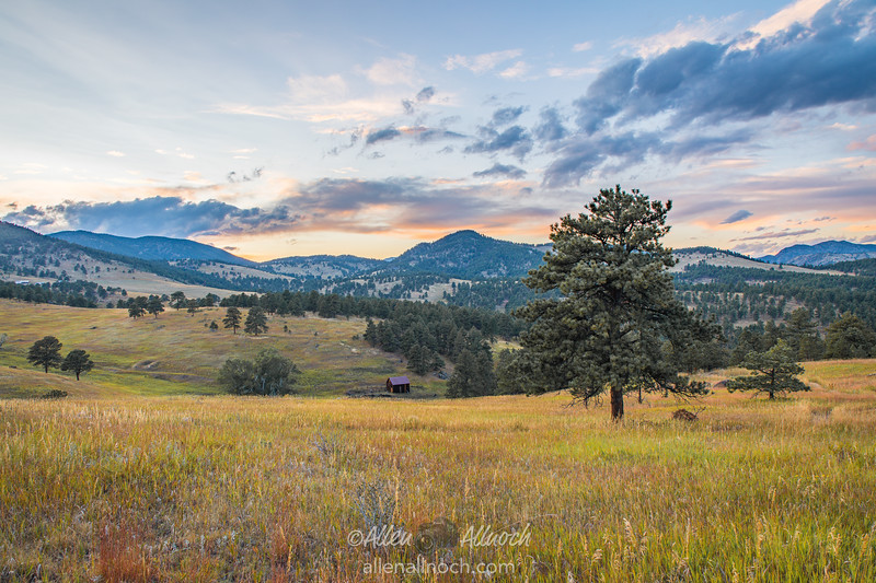 Late-Afternoon Rocky Mountain Vista