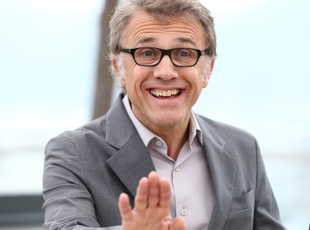 . Jury member Christoph Waltz attends the Jury Photocall during the 66th Annual Cannes Film Festival at the Palais des Festivals on May 15, 2013 in Cannes, France.  (Photo by Andreas Rentz/Getty Images)