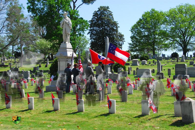 Confederate Memorial Services 2012