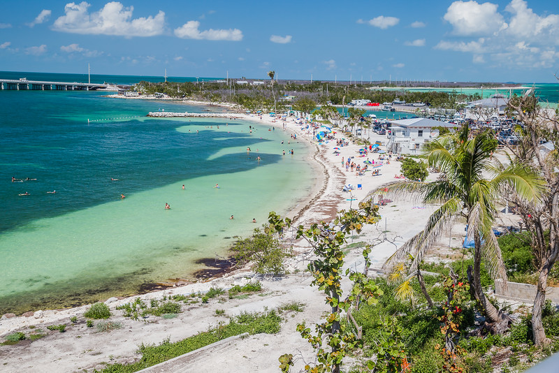 Miami to Key West road Trip - Bahia Honda State Park - Lina Stock