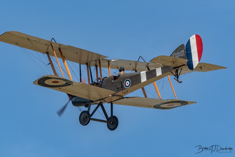 Royal Aircraft Factory BE2e A2943