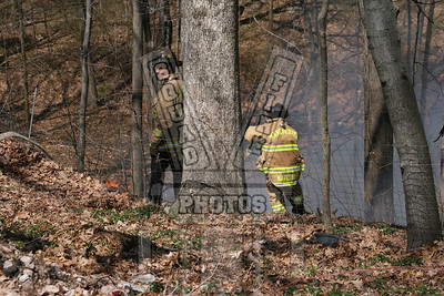 Manchester, Ct brush fire