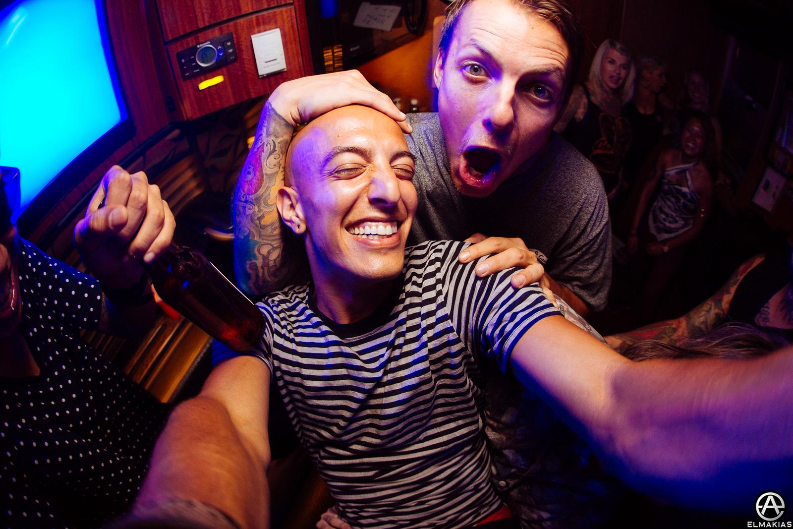 Adam Elmakias and Casey