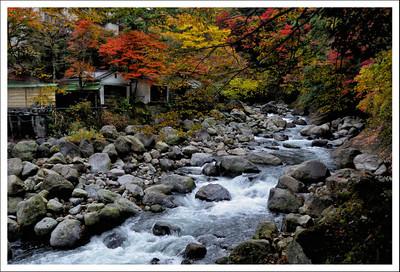 Hayakawa River and Miyanoshita