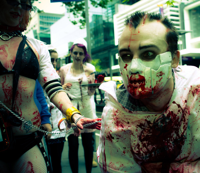 Chained zombie