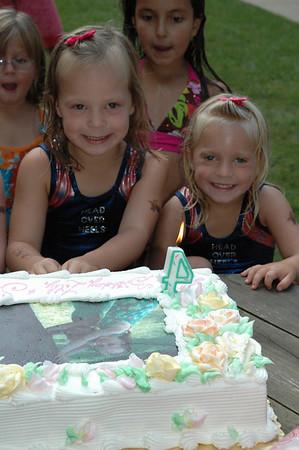 Lilly & Sophie Birthday 2008