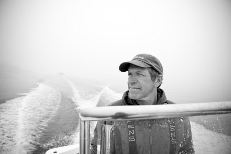 41. Kelp farm, Casco Bay, Maine, May 2013.