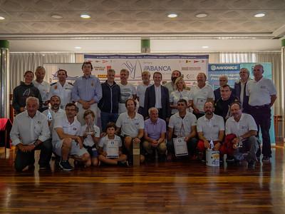 Reparto de premios - XIV Trofeo Vila de Bouzas de Cruceros GADIS