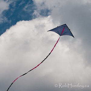 "Matt's ""Dan Leigh"" Trooper Kite which we tested. All of the photos in this gallery are by Trevor Johnston. © Trevor Johnston"