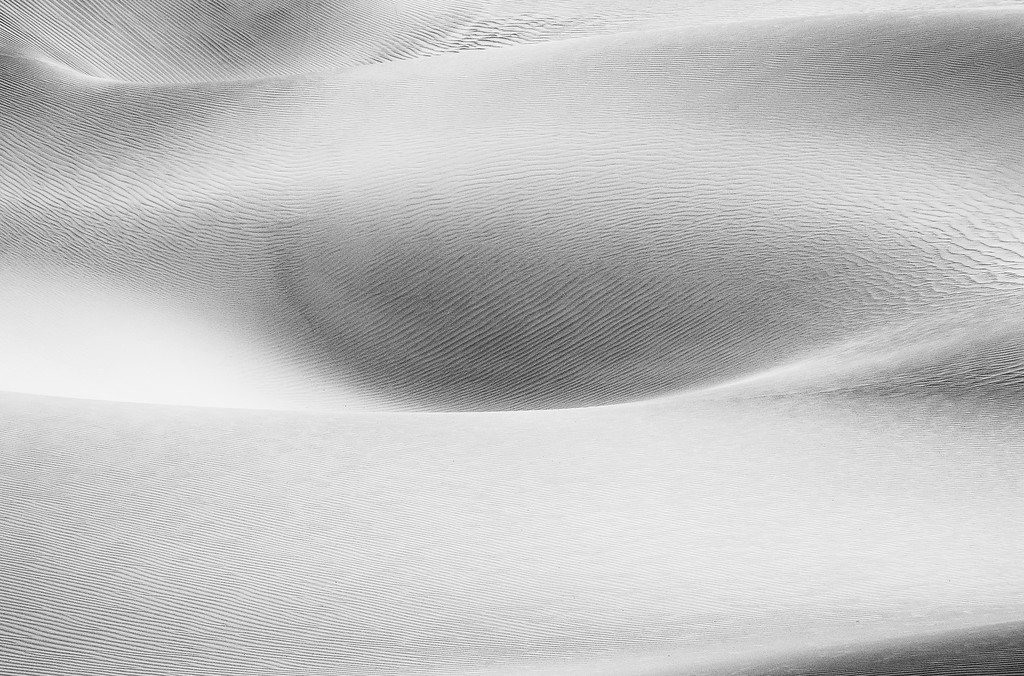High Key Dune Abstract