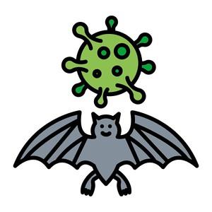 BAT FLU viral humour pandemic!
