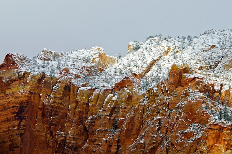 High Ridge Zion National Park, Utah December 2012