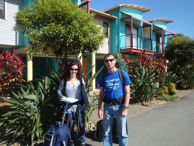 37.5 hours later we arrived to blinding sunshine at our resort in Noosa, on the Sunshine Coast.
