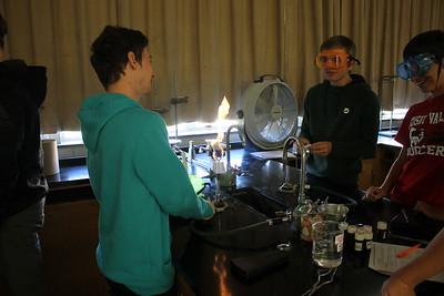 Chemistry Flame Test Lab
