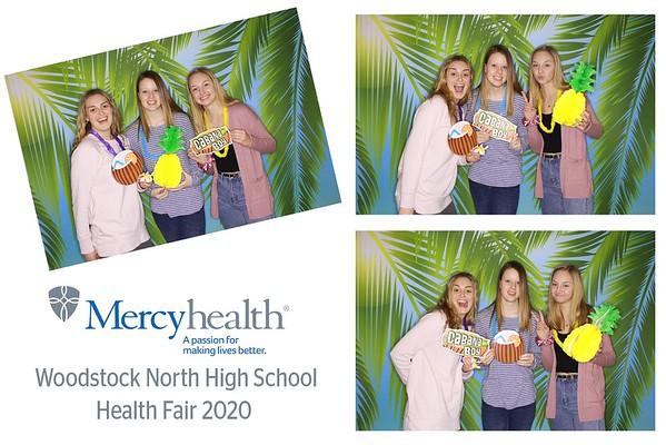"Mercyhealth ""Woodstock North High School Health Fair 2020"""