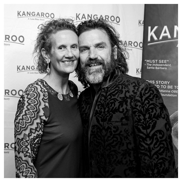 "The NYC Film Premiere and After-Party of ""Kangaroo: A Love-Hate Story"" at Village East Cinemas and the V-Spot Organic on January 19, 2018 in New York, New York."
