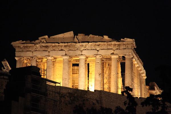 Walking Athens at Night - May, 2010