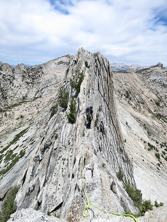 Matthes Crest Traverse - July 2015