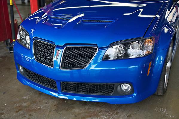 2009 Pontiac G8 Blue