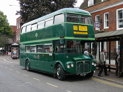 Brentwood's buses - LT, LCBS and Green Line