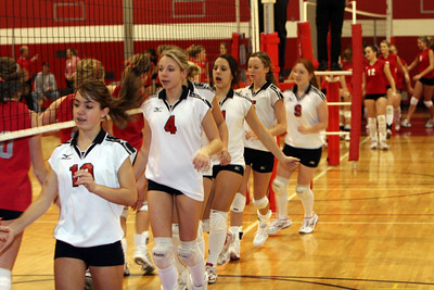 Girls  Freshman Volleyball - 2006-2007 - 1/25/2007 Spring Lake