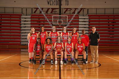 Milan Women's Basketball Team Photos 2017