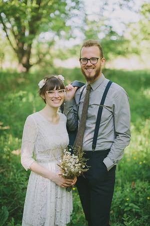Stacie and Zach