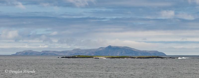 View from the docks at Puerto Ayora on Santa Cruz Island