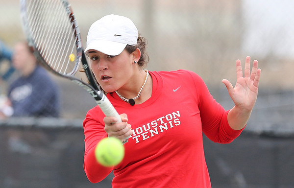 UH Tennis vs UCONN 2014