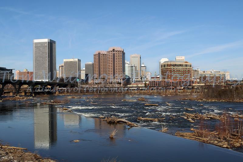 Richmond Va on the James River