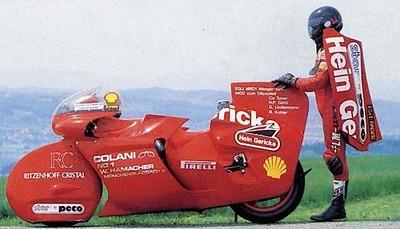 EGLI-MRD-1 récord bike Colanni help