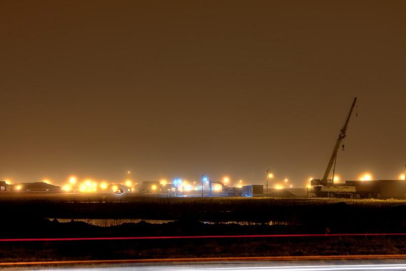 Fog and lights