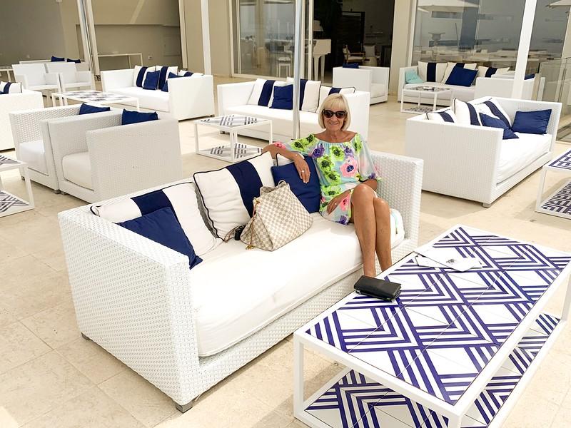 Relaxing at Relais Blu