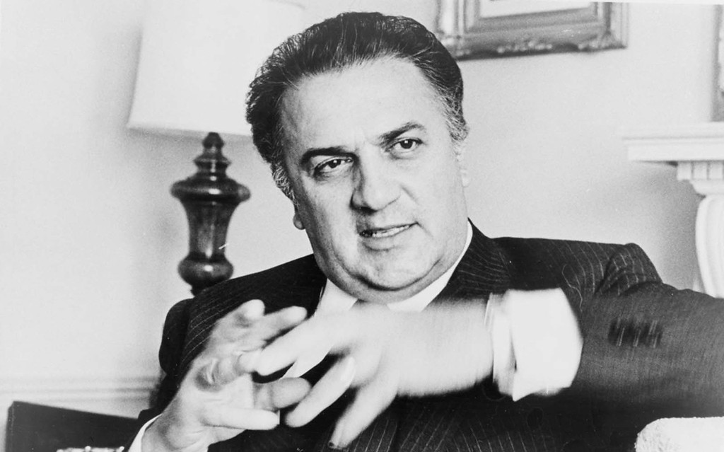 . The late director Federico Fellini � who brought us �La Dolce Vita� and �8 1/2� � was born on this day in 1920. He died in 1993. (Courtesy of en.unifrance.org)