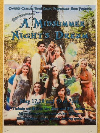 Midsummer Night's Dream: Performance - May 18, 2013