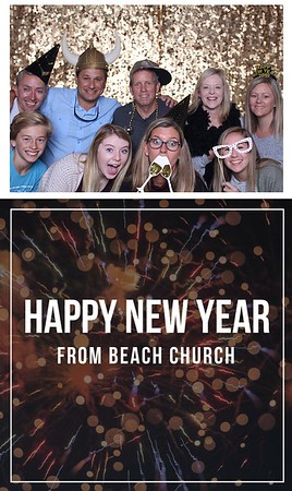 New Years at Beach Church