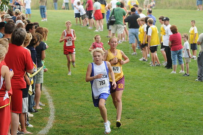 Girls Middle School Race