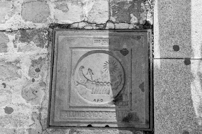 Cartagena, Spain - Manhole cover