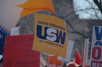 Lansing Labor Rally April 13th, 2011