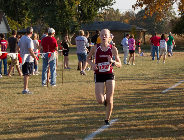 Whitko Cross Country 2010 Sectional at Marion