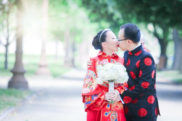 Di + Mu = Married!