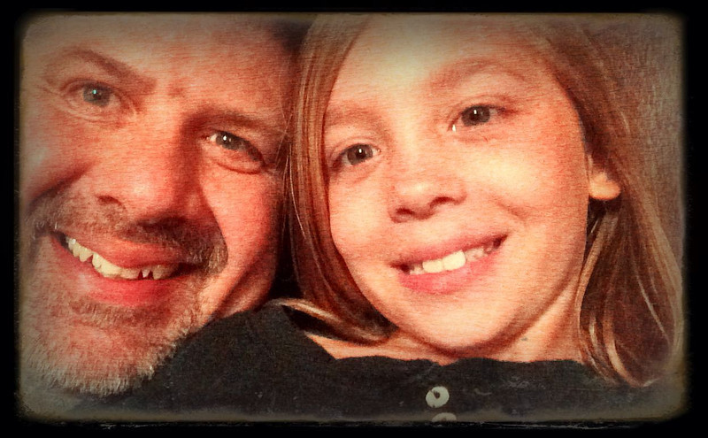Alyssa and Uncle Darren - Uploaded from Camera Awesome