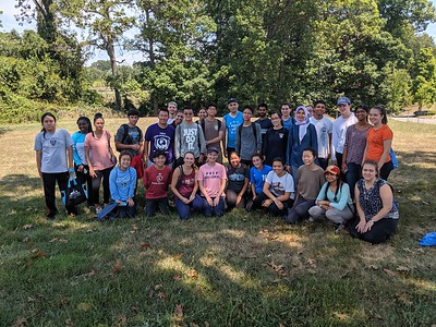 8.19.19 Spring Grove Cleanup and Invasive Removal with JHU