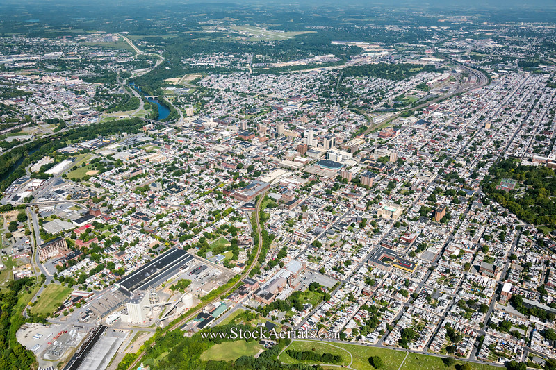 Aerial Photography of Reading PA