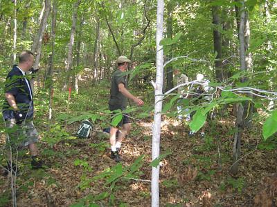 Trail Maintenance - Brady's Run - 20090920