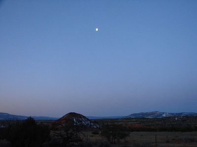 Ghost Ranch Sunrise 2012-03