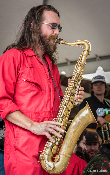 Black Market Brass--2017 Rock Bend Folk Festival-St. Peter, MN.