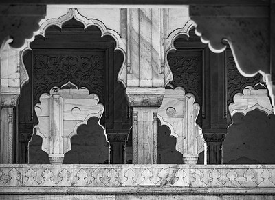 Jill Shaw - Scalloped Arches in Agra Red Fort